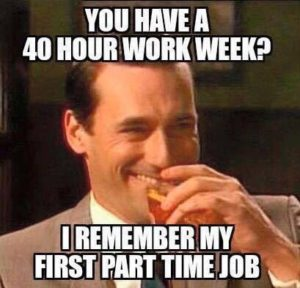 40 hour work week