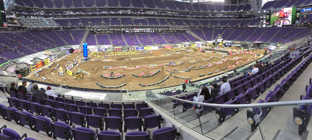 Minneapolis Supercross Track 2018